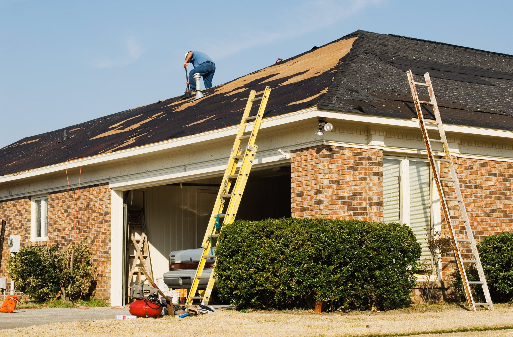 roofing your home