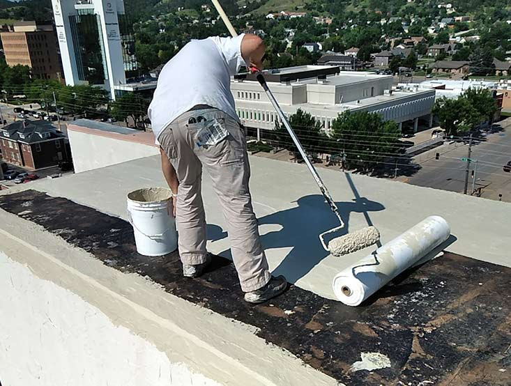 Commercial roofing repair and maintenance
