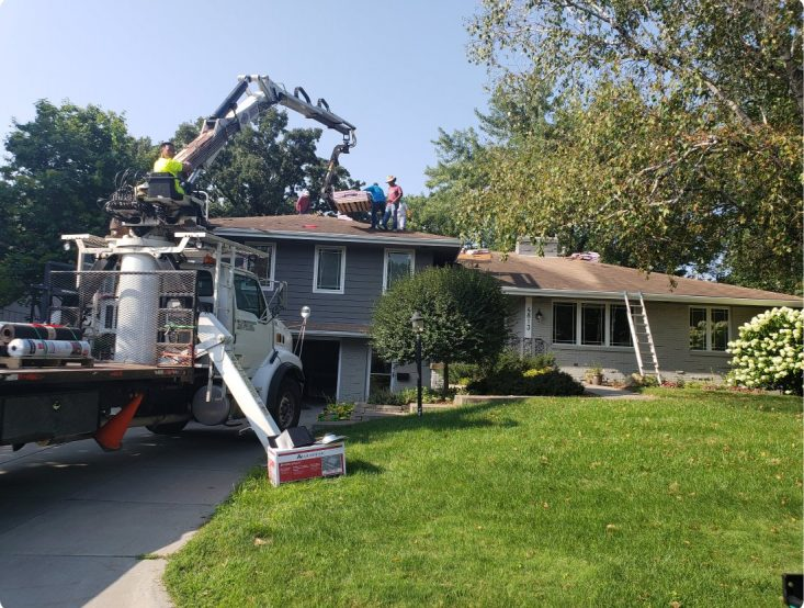 Major roof repair